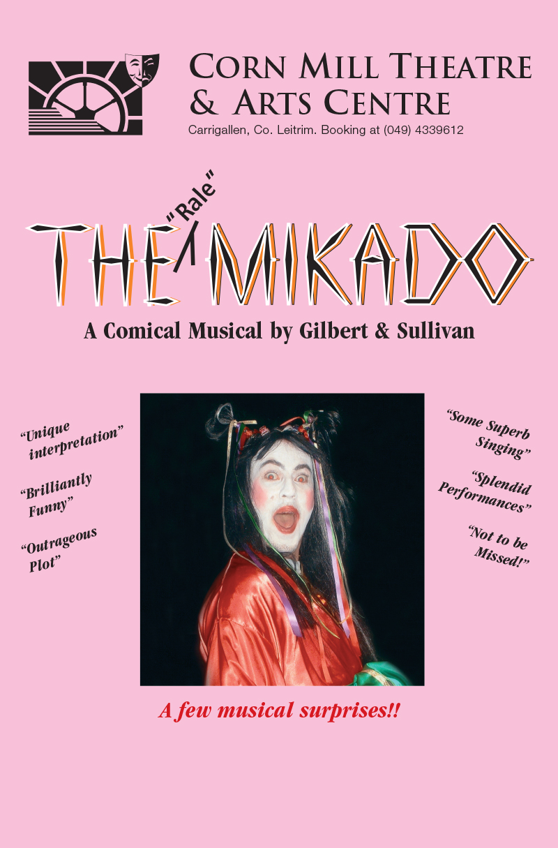 The Rale Mikado | Corn Mill Theatre Group