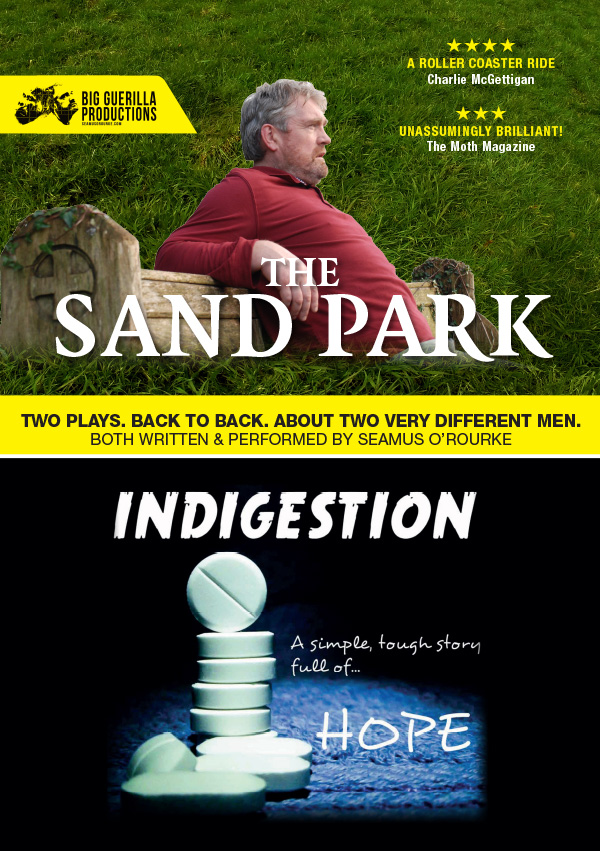 The Sand Park & Indigestion | Corn Mill Theatre Group