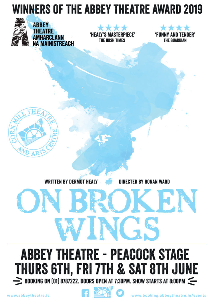 On Broken Wings Poster Abbey Theatre